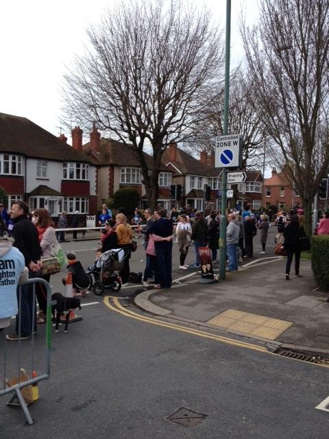 Brighton Marathon - New Church Road