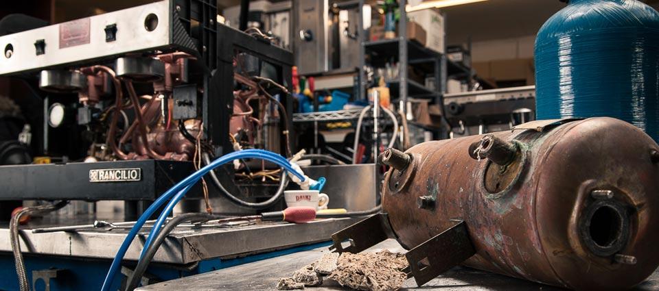 espresso machine repair:
